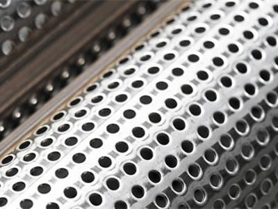 Perforated Metal Pipe Available In Various Hole Patterns
