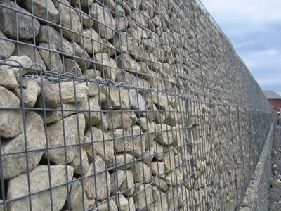 Gabion Noise Barrier for Road, Building, Residential Area