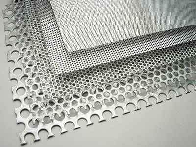 Perforated Sunshade Panels Provide Shade For Buildings