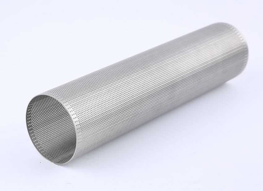 Straight Lock Seam Perforated Tube Providing Many Options
